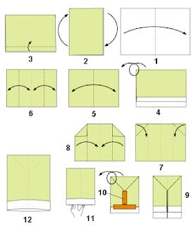 Cara Membuat Topi Koki Dari Kertas Karton Bekas
