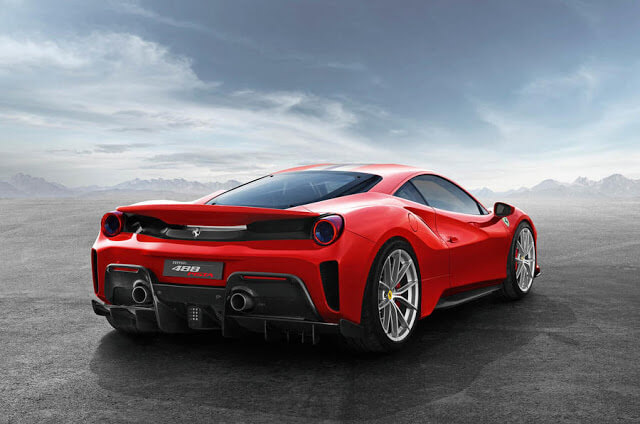 Ferrari 488 Pista Specifications
