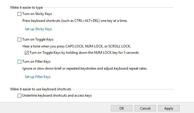 Pengaturan Keyboard