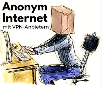 Anonym mit VPN im Internet