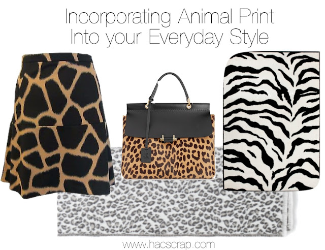 Ideas and Inspiration for incorporating animal prints into your everyday style.