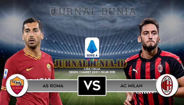 Prediksi AS Roma Vs AC Milan