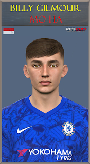 PES 2017 Faces Billy Gilmour by Mo Ha