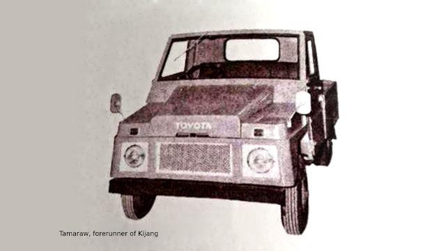 Toyota Tamaraw KF10 pendahulu Kijang buaya