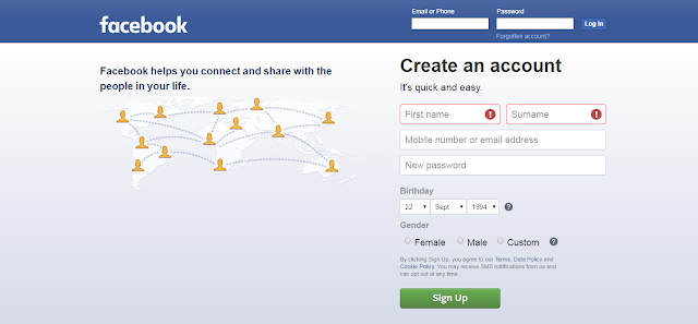 Facebook Par Account Kaise Banaye [Step By Step]