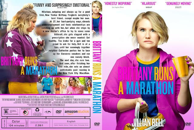 Brittany Runs a Marathon DVD Cover