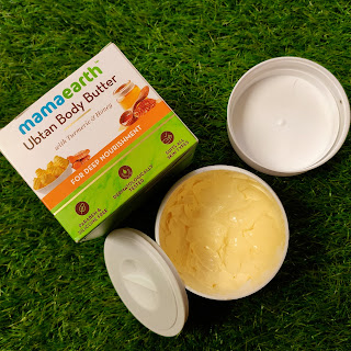 MAMAEARTH UBTAN BODY BUTTER REVIEW    PEACHYPINKPRETTY