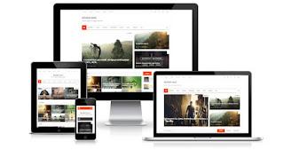 Minima Mag самый быстрый новостной шаблон для blogger blogspot 2017