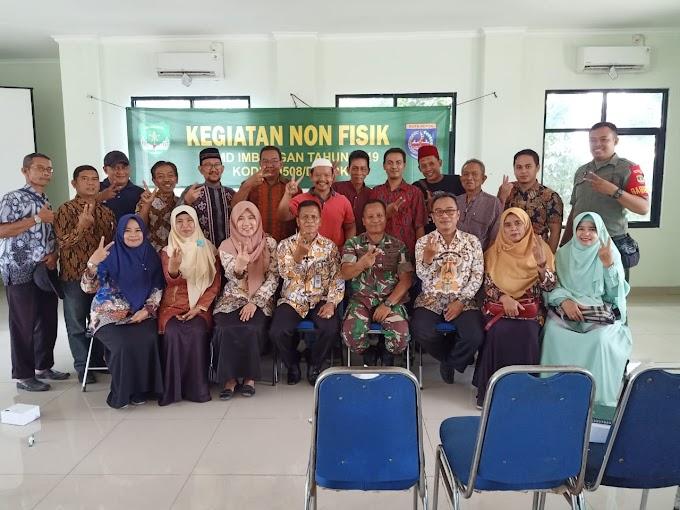 TMMD Ke-106 Kodim Depok Sosialisasikan Program KB dan Kesehatan