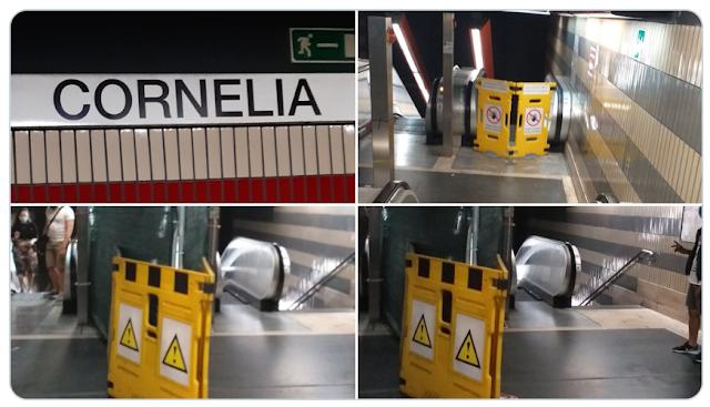 La stazione Cornelia, ecco come è ridotta