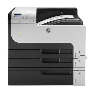 white impress printer amongst a newspaper size upwards to Influenza A virus subtype H5N1 HP LaserJet M712xh Printer Driver Download