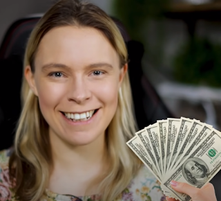 Sarah Chrisp from the YouTube channel, Wholesale Ted