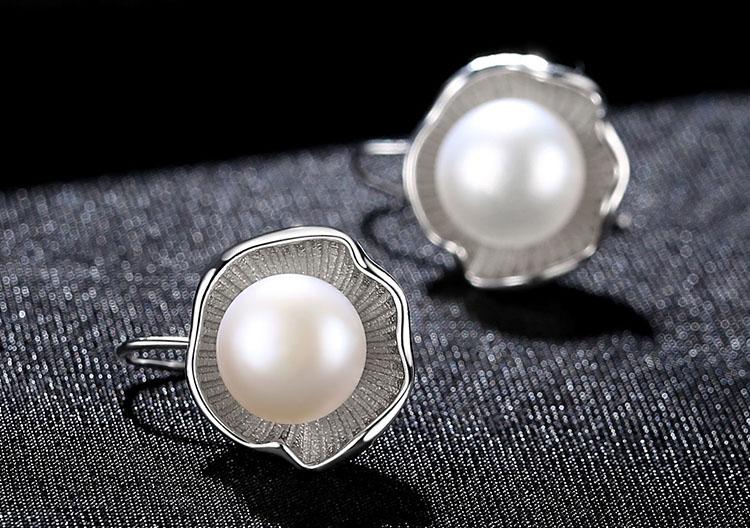 典雅黎明女神淡水真珍珠耳環