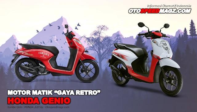 motor-matik-murah-honda-genio-2021-desain-retro