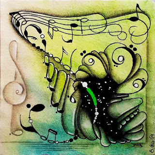 Hump Day #9 with musical theme. Tangle Narwal