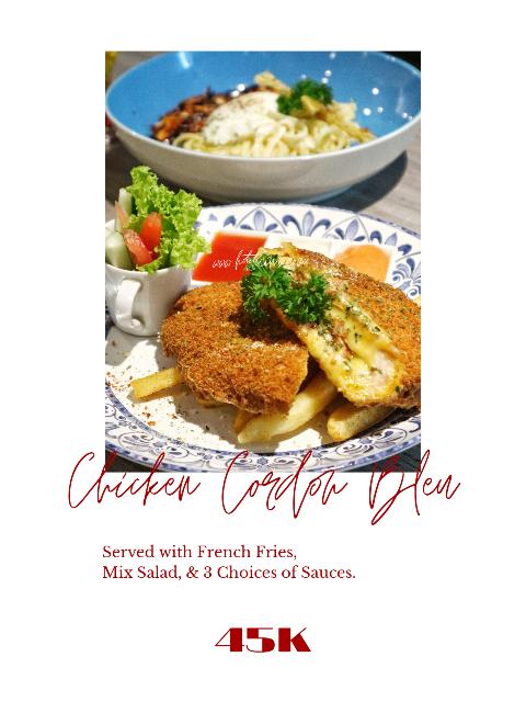 Chicken Cordon Bleu Secang Bistro Jogja Village