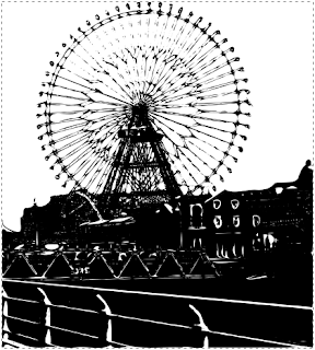 Inkscapeパスの簡略化した画像