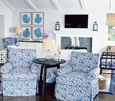 jute for coastal cottage look