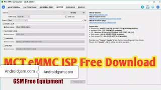 How To Download MCT eMMC ISP King Beta Unlock Tool Latest Update Free Password Download To AndroidGSM