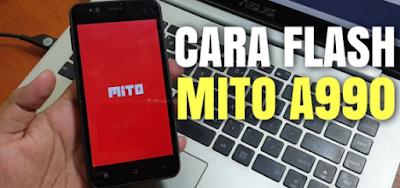 cara flash Mito a990