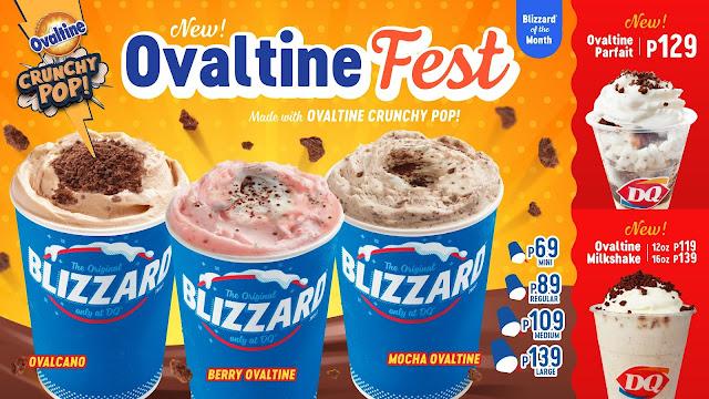 Dairy Queen Ovaltine Blizzard of the Month