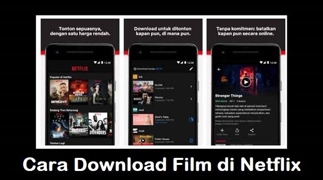 Cara Download Film di Netflix