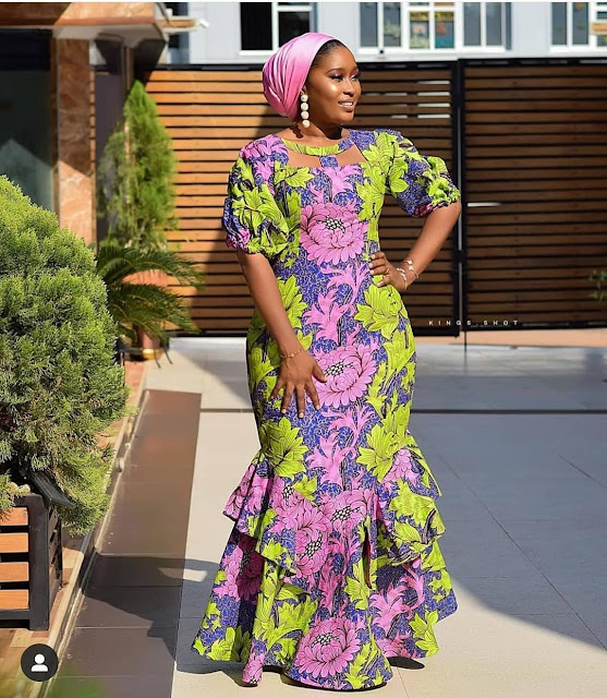2020 Multipurpose Ankara Long Gown Styles