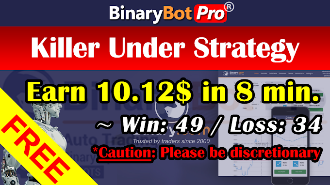 Killer Under Strategy (5-Aug-2020) | Binary Bot | Free Download