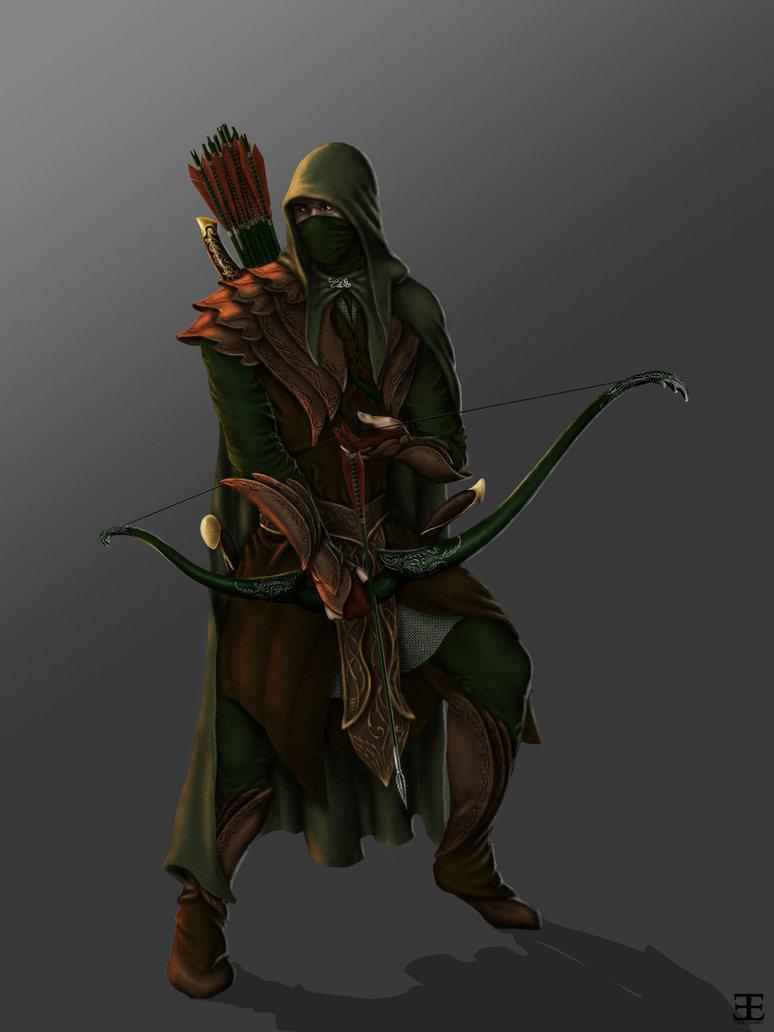 An Idea For An Elf Ranger