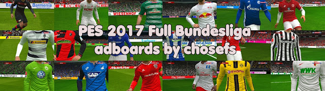 PES 2017 Full Bundesliga Adboards dari Chosefs