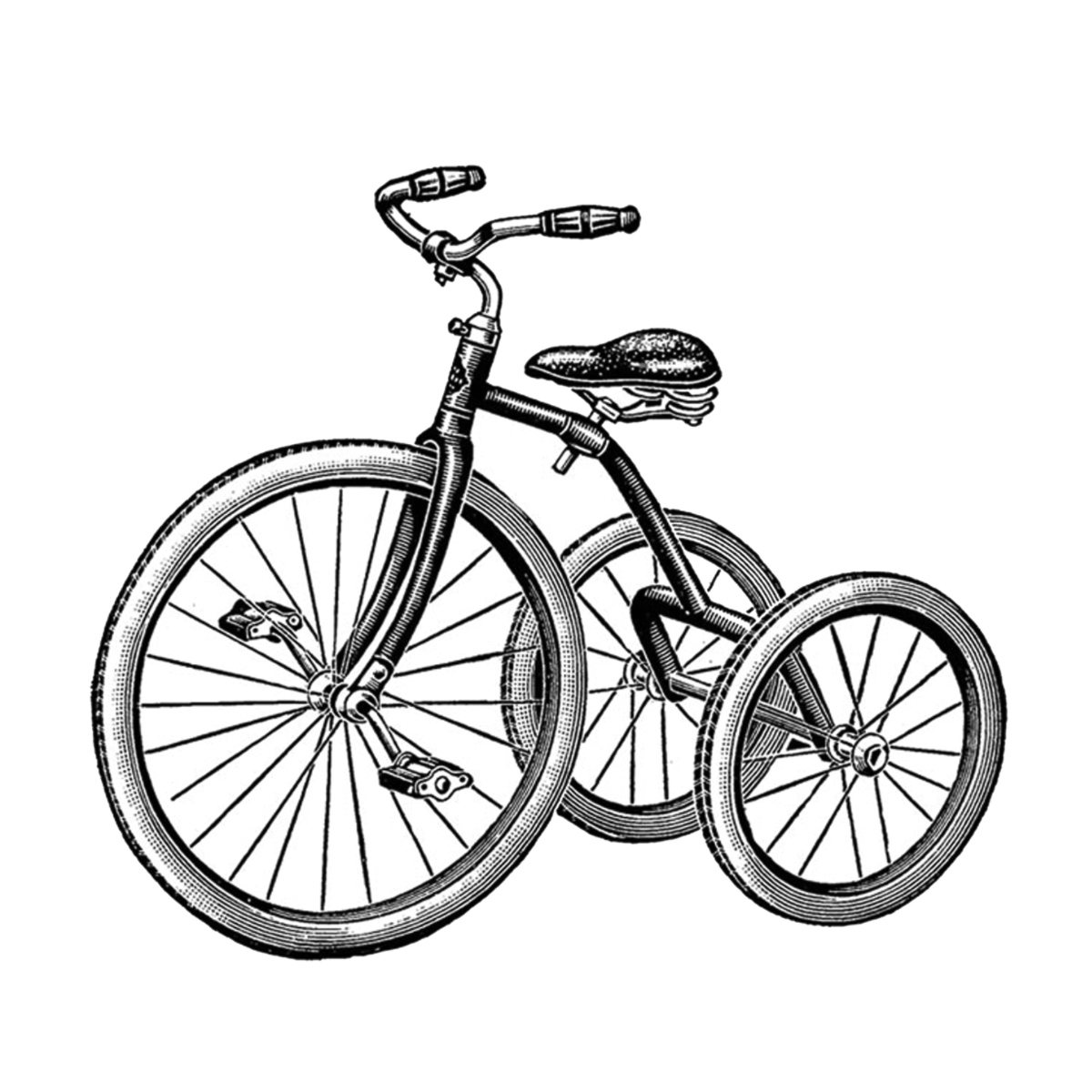 Trike Bicycle Coloring Pages Coloring Pages