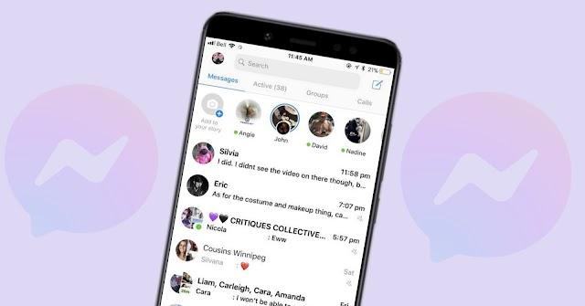 ফেসবুক মেসেন্জারে চ্যাট হাইড করার উপায় জেনে নিন | Facebook Messenger App Chat Hide