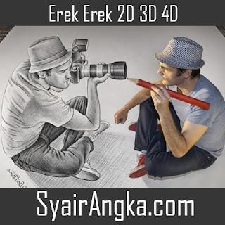 Erek Erek Menjadi Seniman 2D 3D 4D
