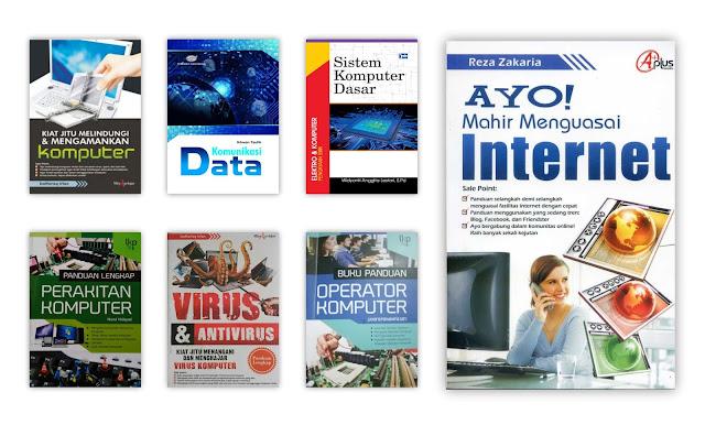 Buku Komputer dan Teknologi Informasi Untuk Koleksi Perpustakaan Desa