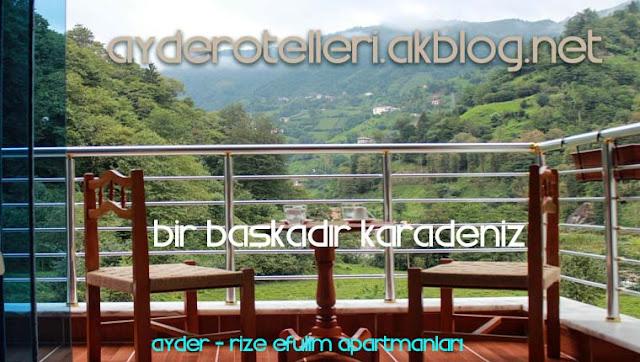 Karadeniz Rize Ayder Otelleri Apart Günlük Daire Otel