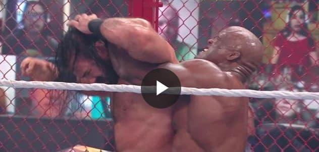 بوبي لاشلي يحافظ على لقب  WWEبعد تغلبه على درو ماكنتاير