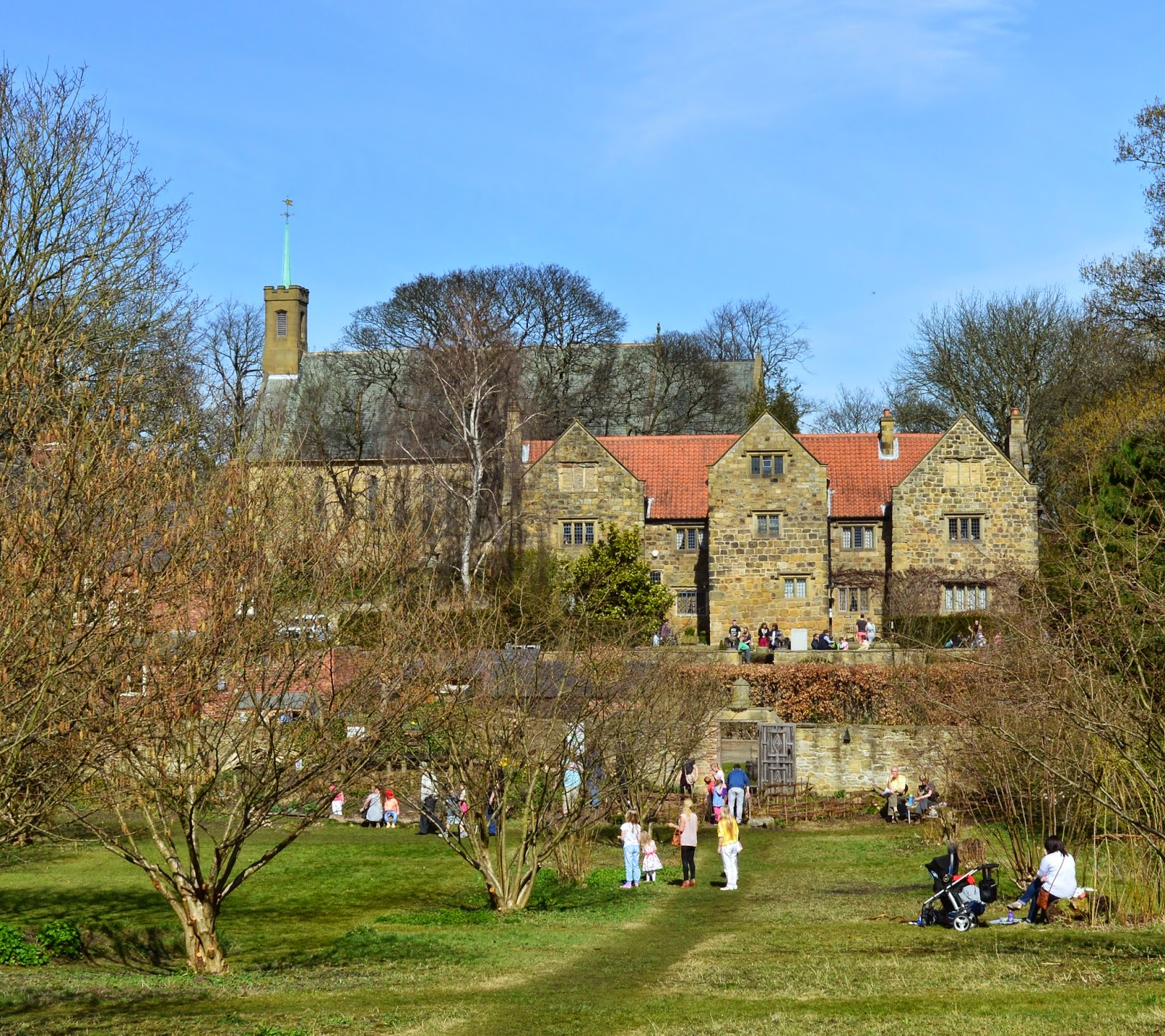National Trust Cadbury Easter Egg Hunts in the North East 2020 - Washington Old Hall