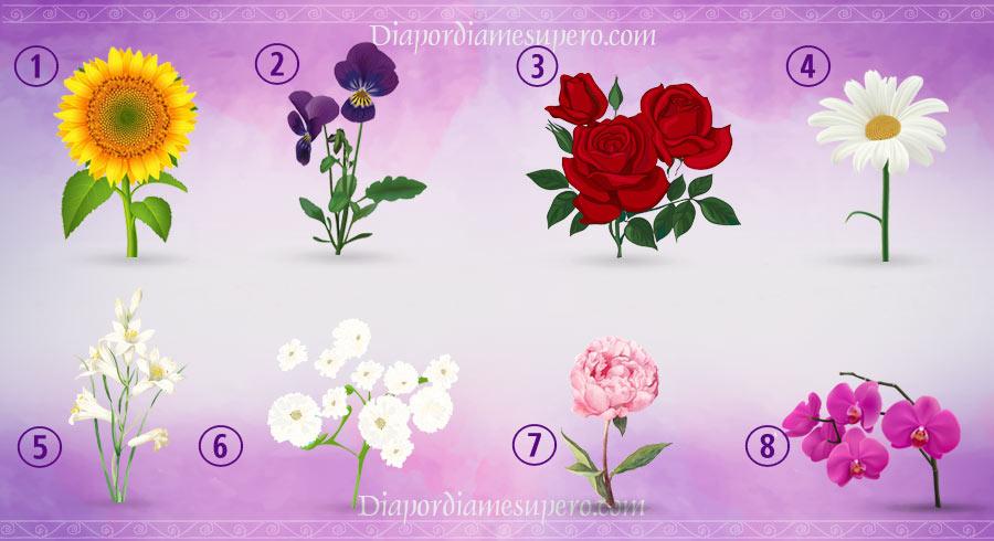 Test personalidad: ¿Qué dice tu flor favorita de ti?