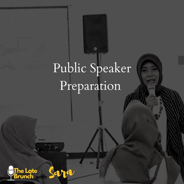 persiapan menjadi pembicara seminar