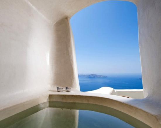 Kapari Natural resort in Imerovigli #Santorini.