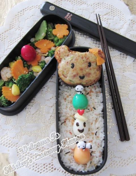 casa bento cute eggs lunch box for kids