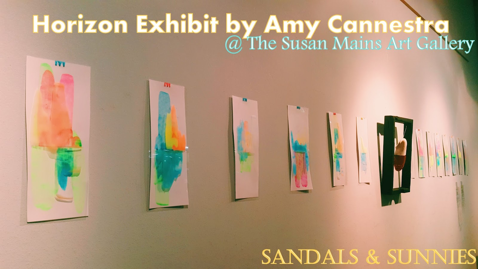 On Beauty is fleeting and Second Chances | Horizon Exhibit By Amy Cannestra. at the Susan Mains Gallery