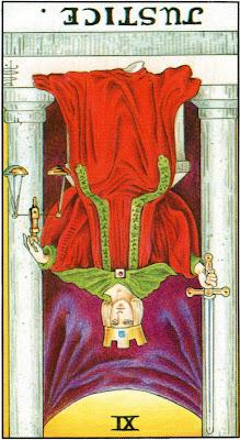Justice Reversed Tarot Card Meaning- Major Arcana