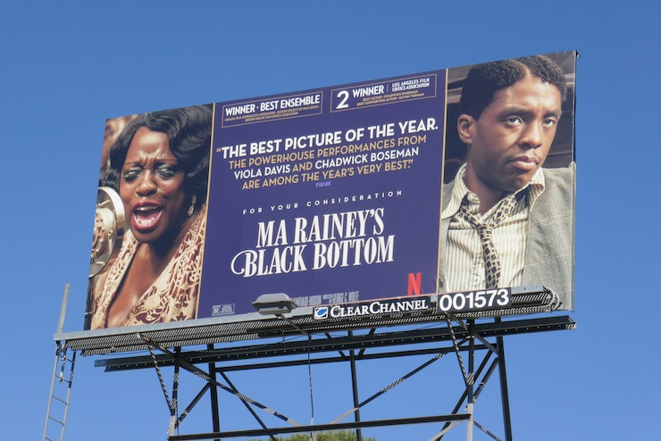 Ma Raineys Black Bottom FYC billboard