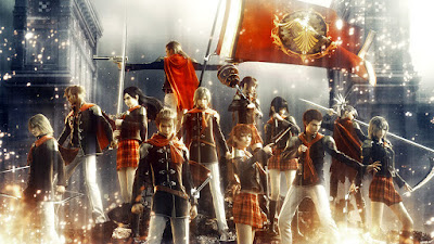 Review Final Fantasy Awakening MMOARPG 3D Action Games Mobile