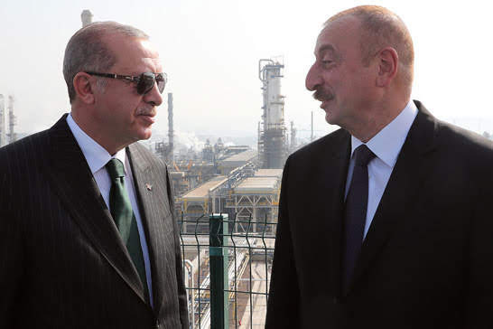 Erdogan declaró que Karabaj también es un problema de Turquía