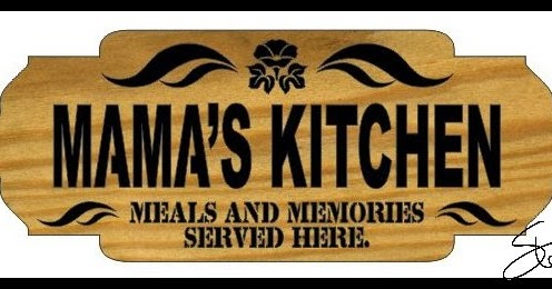 Wood Mamas Kitchen Sign