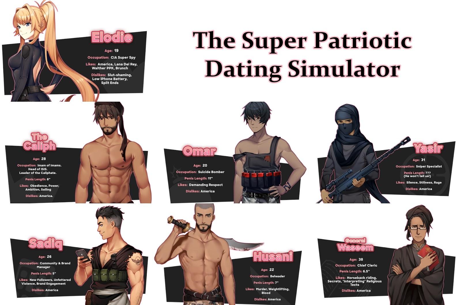 Super Patriotic Dating Simulator