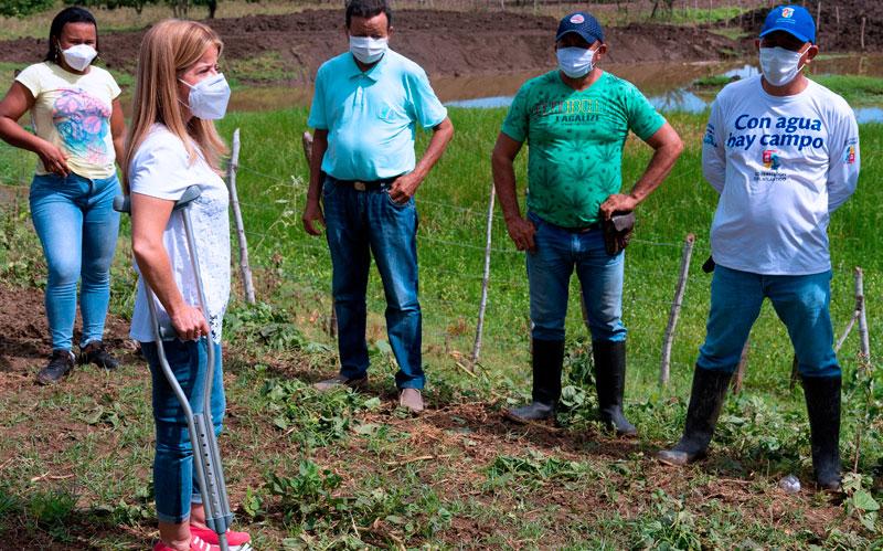 Con la rehabilitación de jagüeyes y reservorios, nos preparamos para la temporada de sequía: Elsa Noguera