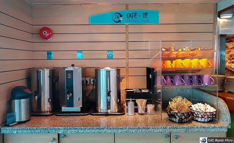 Espaços de café do navio - Cruzeiros marítimos: tudo sobre viagem de navio